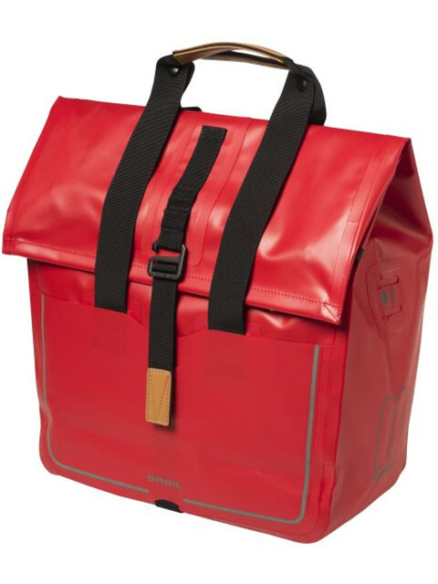 Basil Urban Dry Shopper - Sac porte-bagages - 25l rouge
